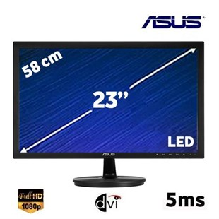 Asus VS238NR 23 inç 5ms (Analog+DVI) Full HD LED Monitör